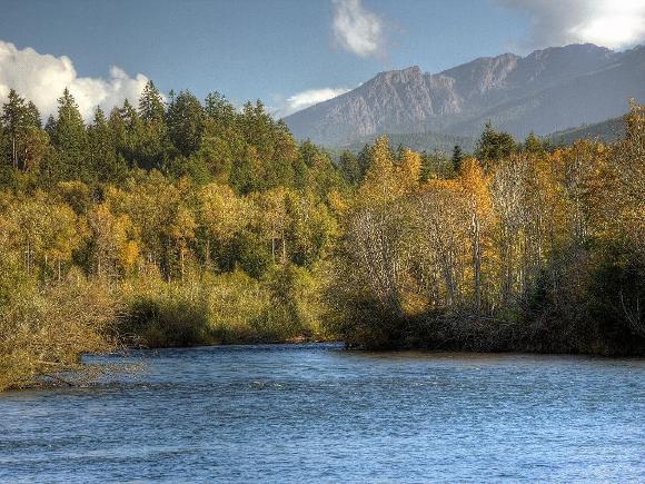 Elwha River, Olympic National Park - Credit: John McMillan, NOAA