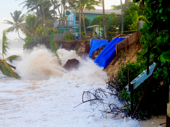 Erosion on the North Shore - Credit: Dolan Eversole