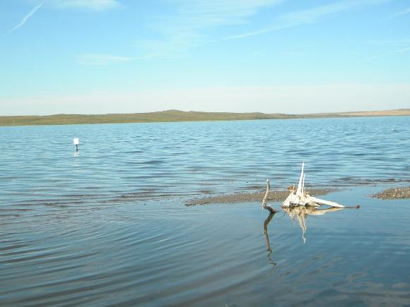 Rising water levels have caused many prairie lakes and wetlands to flood.