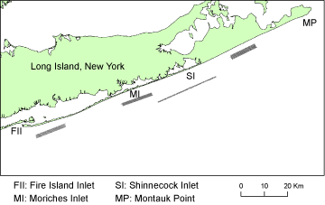 Basemap image of the survey locations.