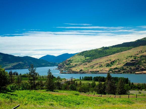Columbia River Gorge - Public domain