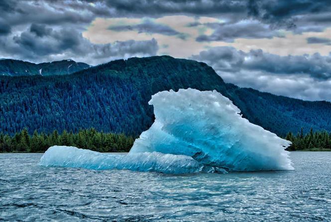 Mendenhall Lake, Alaska - public domain