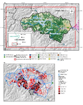RGHW map and land disturbance