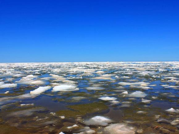 Ice on Lake Superior taken by MPD